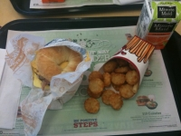 Breakfast at... Burger King