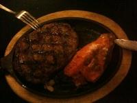 Cena alla steak house di Oakhurst